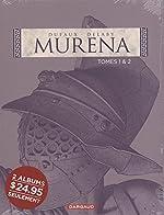 Murena, Coffret en 2 volumes - Tome 1, La pourpre et l'or ; Tome 2, De sable et de sang de Philippe Delaby