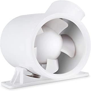 4 Inch 73 CFM Silent Inline Duct Booster Fan, Low Noise HVAC Mixed Flow Fan Quiet Energy Efficient Ventilation Blower, for Air Circulation in Ducting, Vents, Grow Tents, Indoor Grow Rooms