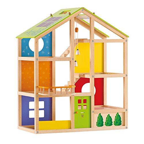 Hape Vierjahreszeitenhaus Holz Puppenhaus