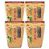 特別栽培米 大潟村あきたこまち 発芽玄米鉄分 1kg × 4袋