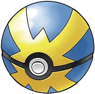 Jakks Pacific Pokemon Toy - Soft Foam Pokeball - Quick Ball (Blue & Yellow - 2.5 inch)
