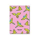 Imborrable Sanz i Vila 2 - Cuaderno de notas con malla de puntos, 144 páginas, A5, 14.8 x 21 cm