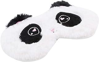 LALANG Travel Sleeping Cute White Panda Eye Mask Shading Nap Cover Mask