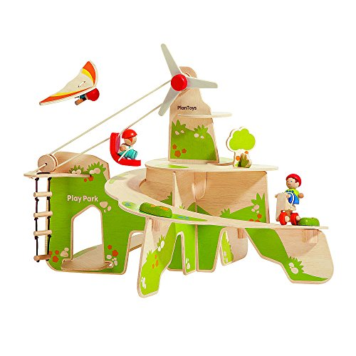 PLAN TOYS- Play Park, 6263, Bois