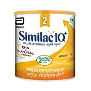 Similac IQ+ 2 is a spray dried stage 2 follow up infant formula designed for infants from 6 months onward as part of a healthy diet during and after weaning Similac IQ+ is an infant milk formula that contains DHA + Natural Vitamin E, Omega 3, Omega 6...