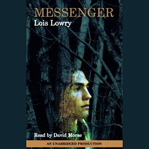Messenger audiobook cover art