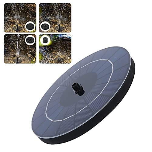 Fishawk Fuente de Agua con energía Solar, Fuente de baño para pájaros, Fuente de Agua Solar, Bomba de 3,5 W, práctica Fuente de Agua Solar para baño de pájaros, pecera para jardín, Estanque