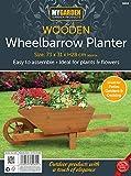 My Garden Wooden Wheelbarrow Planter - Rustic Finish