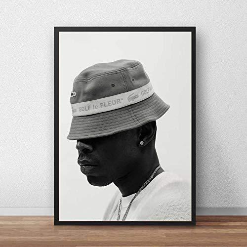 KWzEQ Schöpferplakat Rap Musik Rapper Wandkunst Leinwand Poster Wohnzimmer Dekoration,Rahmenlose Malerei,30X45cm