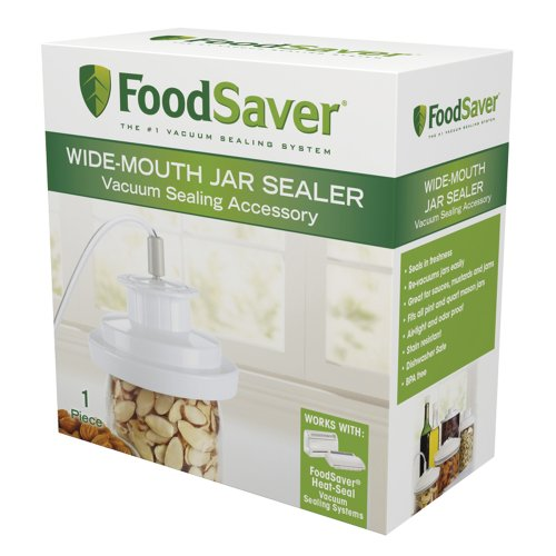 FoodSaver T03-0023-01P Wide-Mouth Jar Sealer