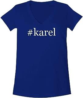 The Town Butler #Karel - A Soft & Comfortable Women's V-Neck T-Shirt
