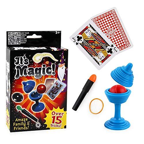 PULABO Magic Classic Vanishing Ball und Vase Party Magic Trick Set Magic Requisiten Show Spielzeug Magic Toy Bequem und Umweltfreundlich