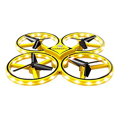 Best4u Mini Drone for Kids,Watch Controlled Interactive Induction Quadcopter UAV Drone, Gesture Sensing Remote Control Aircraft, Suspension Obstacle Avoidance 360°Flip For Children Adults Beginners
