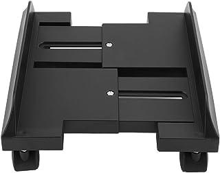 Soporte para monitor ajustable extraíble, estante soporte para soporte de escritorio Mainframe Storage Rack Carro porta PC Portacase con freno