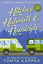 Hitches, Hideouts, & Homicide: A Camper and Criminals Cozy Mystery Series Book 7 (A Camper & Criminals Cozy Mystery Series)