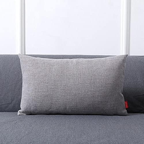 Almohada,Diseño ergonómico para un Mejor Soporte para Dormir en la Cabeza, el Cuello y los Hombros Almohada -Gris_30x50cm