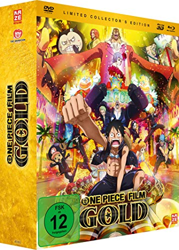 One Piece: Gold - 12. Film - [3DBlu-ray, Blu-ray & DVD] Limited Edition