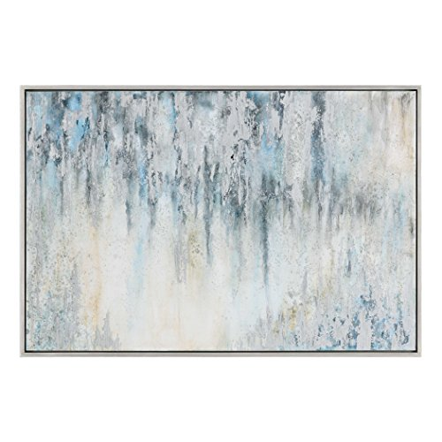 Uttermost Overcast Abstract Canvas Wall Art