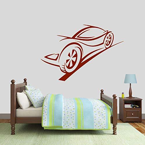 Tianpengyuanshuai fotobehang contour racing remmen track kinderen slaapkamer decoratie tieners kamer vinyl muursticker