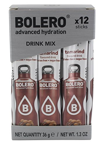 Bolero Sticks Tamarind - Paquete de 12 x 3 gr - Total: 36 gr