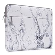 MOSISO Laptop Sleeve Compatible with 13-13.3 inch MacBook Pro, MacBook Air, Notebook Computer, Canvas Horizontal Painting Marble Carrying Bag