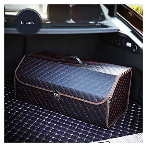 Opvouwbare kofferbak-organizer, waterdicht, antislip, leer, voor vrachtwagen, SUV en binnen