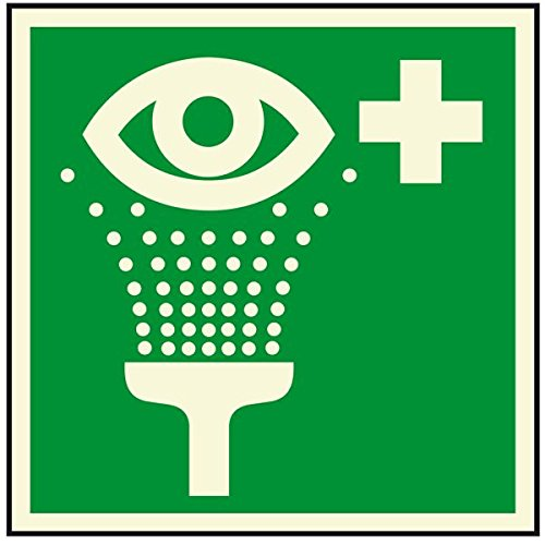 LEMAX® PERMALIGHT plus Rettungsz. Augenspüleinrichtung, ASR/ISO, Kunststoff, 200x200mm