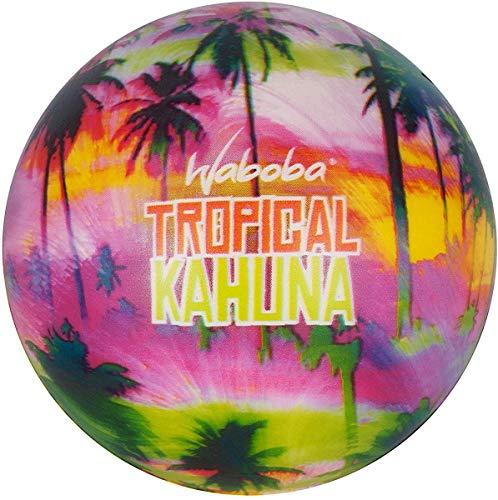 Waboba- Tropical Kahuna Foam Ball, Colore Beach Blur, AZ-145-BeachB