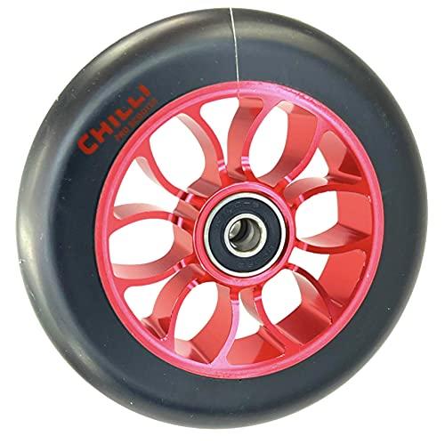Chilli Pro Patinete de acrobacias spoked Reaper Grim 110 mm (rojo/negro)