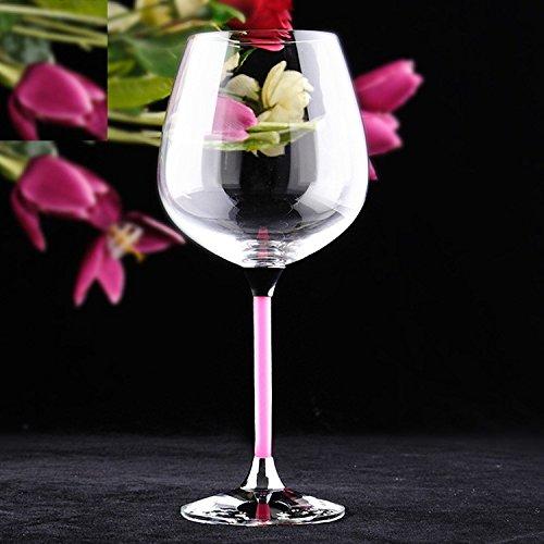 JARONG Tasse À Vin Rouge avec Verre en Cristal De Haute
