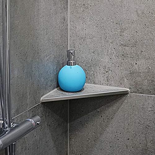 ABLAGO® Design befliesbare Duschablage Badezimmer Fliesen Ablage Edelstahl Regal, Abmessungen:Q280 395x280x280mm