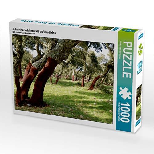 CALVENDO Puzzle Lichter Korkeichenwald auf Sardinien 1000 Teile Lege-Größe 64 x 48 cm Foto-Puzzle Bild von Ulrike Steinbrenner