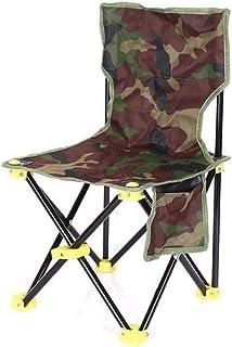 99fd82108 Silla de Camping Plegable portátil, Hecha de Lona, es Resistente y Duradera