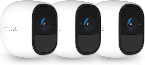 3 x Silicone Skins Compatible with Arlo Pro & Arlo Pro 2 Smart Security - 100% Wire-Free Cameras, Arlo Pro Camera Protective Case,White