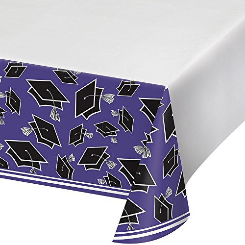 Creative Converting Party Supplies, 54' x 102', Purple