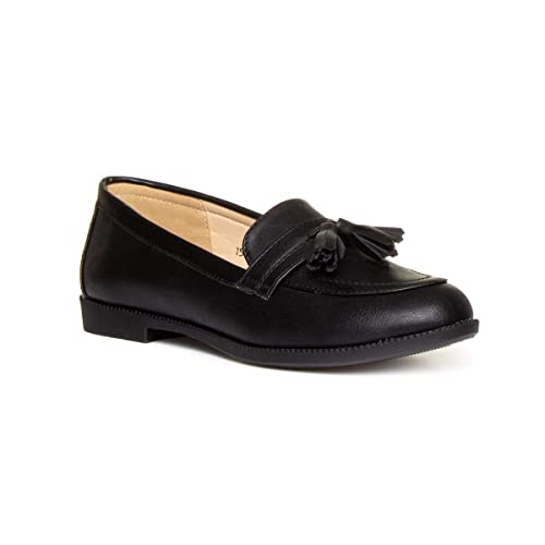 3a69c9058065a Womens Black Loafers: Amazon.co.uk