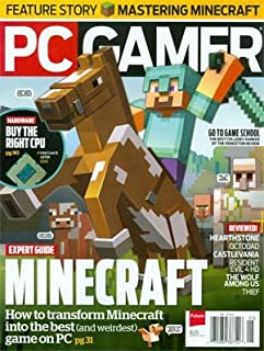 PC Gamer Magazine Issue 252 May 2014 Minecraft Expert Guide