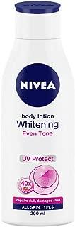 NIVEA Body Lotion, Whitening Even Tone UV Protect, 200ml