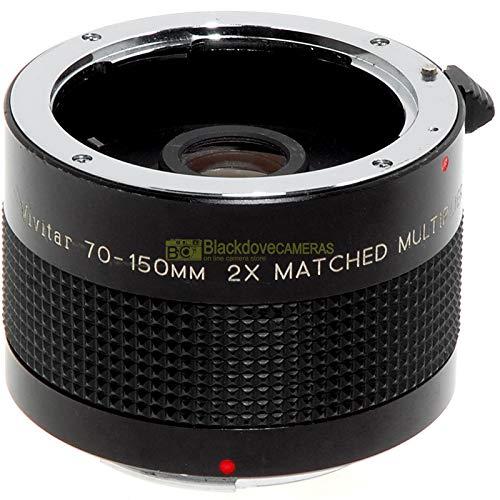 2x Vivitar Matched Spiegelreflexkamera für Pentax K Spiegelreflexkameras. Optimiert für Vivitar 75/205mm aber mit allen Pentax K Objektiven