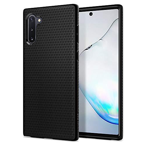 Spigen Cover Liquid Air Compatibile con Samsung Galaxy Note 10 - Nero
