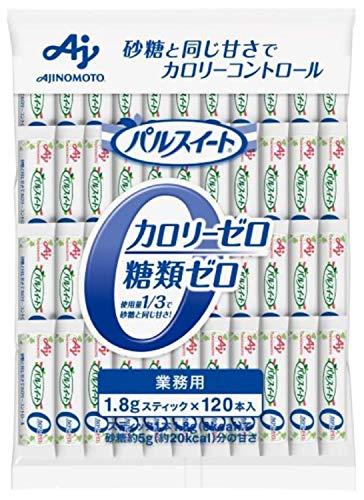 味の素KK パルスイート カロリーゼロスティック 業務用 120本