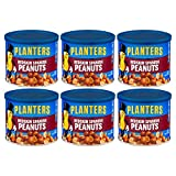 Planters Peanuts, Spanish Red skin with Sea Salt (12.5 Ounce (Pack of 6))