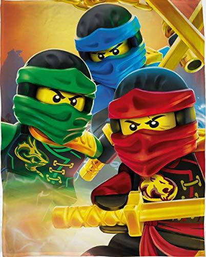 LEGO Ninjago Fleecedecke Kuscheldecke 100x150cm LEG631
