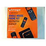Vonage Expandable Digital Voice Cordless Telephone Kit For Vonage