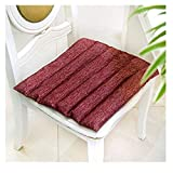 DZWLYX Stuhlkissen Rechteck 15.7x15.7 Zoll Bequemes 1.57 Zoll Kissen Für Ihre Esszimmer Stühle Und Bänke In Vielen Farben Erhältlich (Color : Style 2)