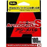 DUEL(デュエル) PEライン 0.2号 アーマード S アジ・メバル 100M 0.2号 MP ミルキーピンク アジ・メバル H4057-MP