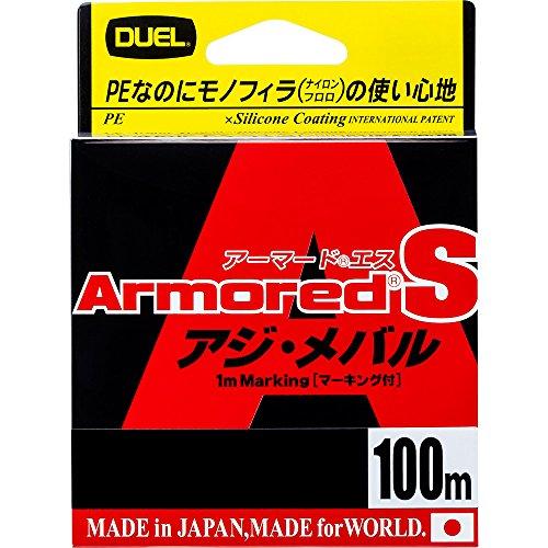DUEL(デュエル) PEライン 0.4号 アーマード S アジ・メバル100M 0.4号 MP ミルキーピンク アジ・メバル H4026-MP