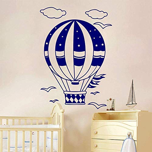 Home Decoration Wandaufkleber Luftballons Leere Möwe Wolke Aufkleber Kinderzimmer Aufkleber Wandbild Vinyl Wandaufkleber 55X80Cm