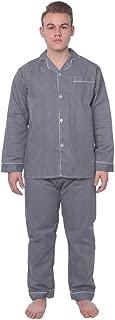 Beverly Rock Men's Plaid Woven Long Sleeve Long Leg Pajama Set