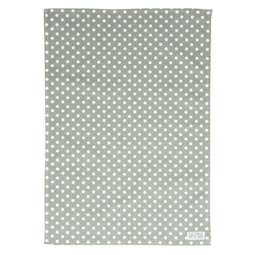 Ochre And Ocre Organic Cotton Tea Towel Madelaine-Sage